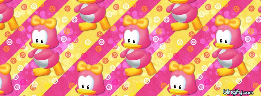 Cute Duck facebook cover