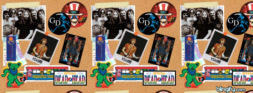 Grateful Dead facebook cover