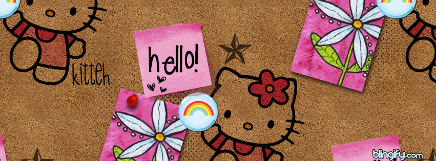 Hello Kitty Board facebook cover