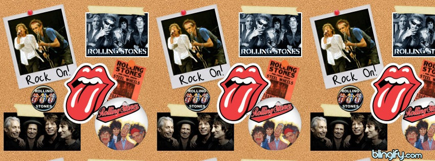 Rolling Stones facebook cover