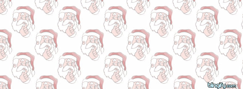 Christmas Santa facebook cover