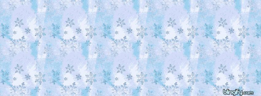Christmas Snowflakes facebook cover