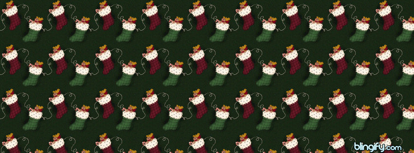 Christmas Stocking facebook cover