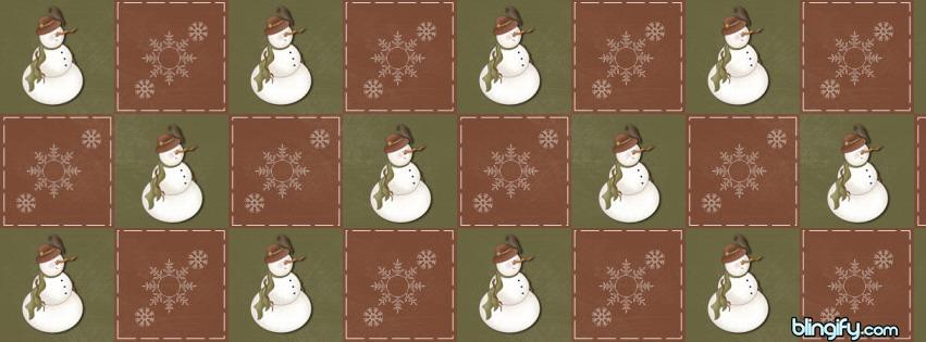 Country Snowman facebook cover