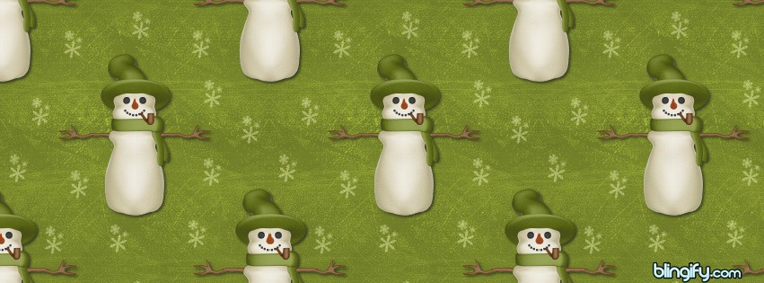 Snowmanolivegreen facebook cover