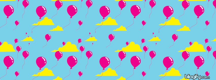 Balloon facebook cover