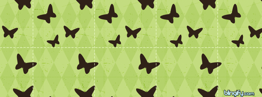 Cute Butterfly facebook cover