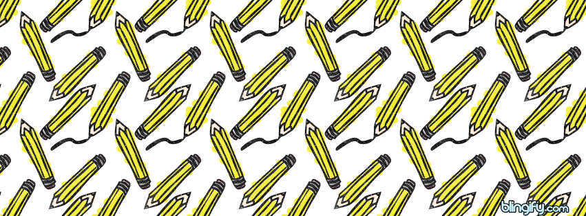 Pencils facebook cover