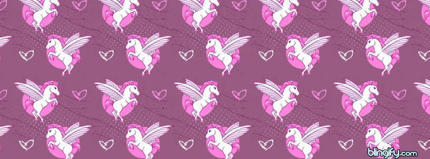 Unicorn facebook cover