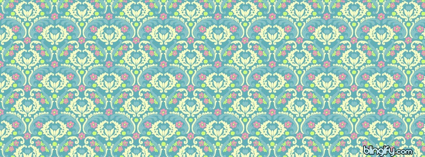Blueornamental facebook cover
