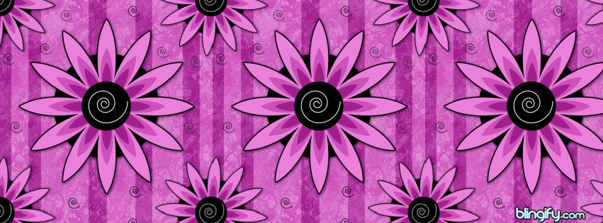 Crazy Flower facebook cover