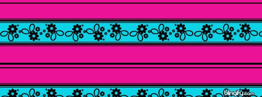 Flower Line facebook cover
