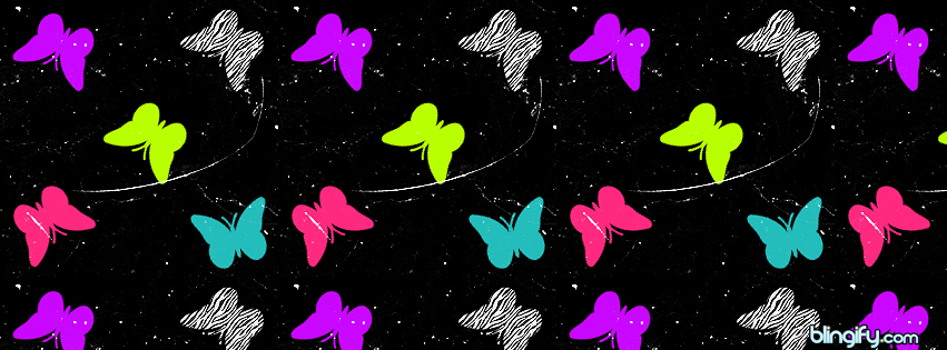 Butterflies  facebook cover