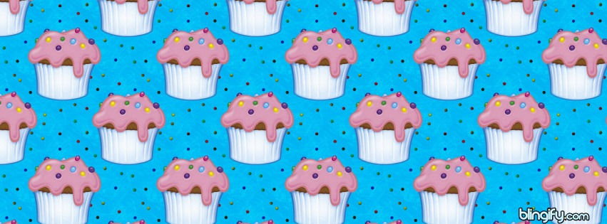 Cupcake Sprinkles facebook cover