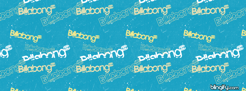 Billabong facebook cover