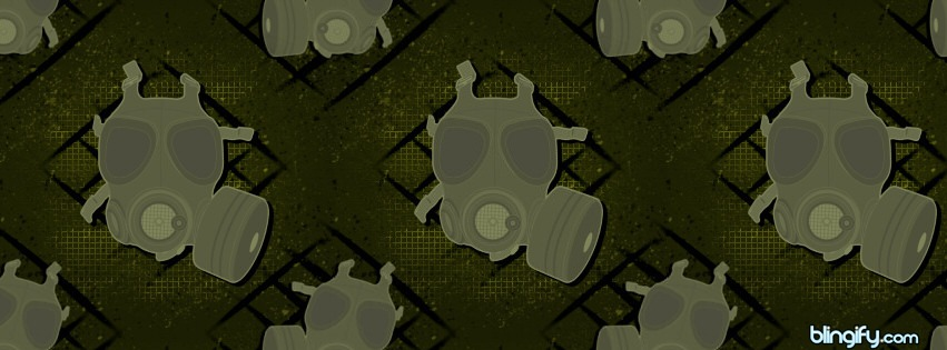 Gasmask facebook cover
