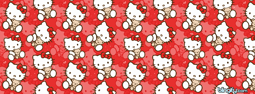 Hello Kitty facebook cover