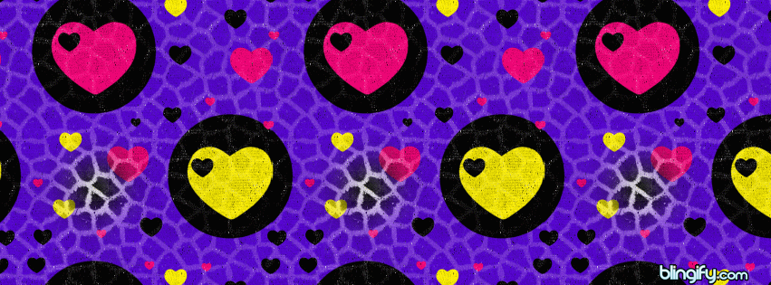Love Hearts  facebook cover