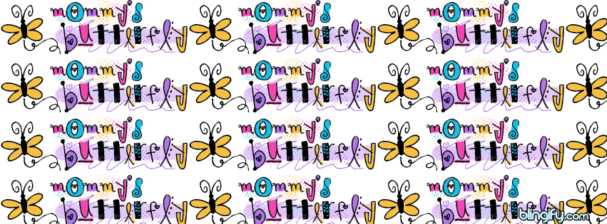 Mommy Butterfly facebook cover