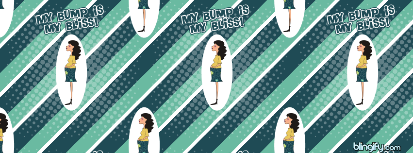 My Bump is My Bliss facebook cover