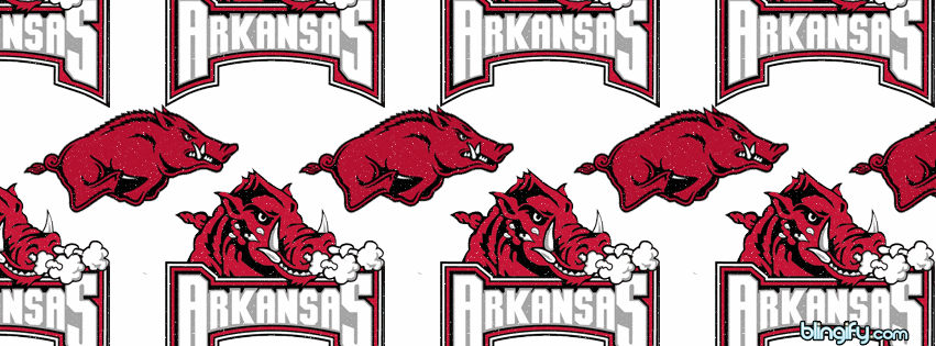 Arkansas Razorbacks facebook cover
