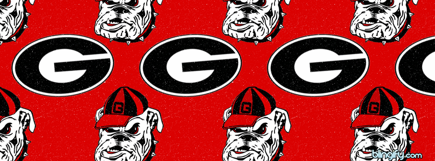 Georgia Bulldogs facebook cover