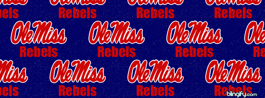 Ole Miss Rebels facebook cover