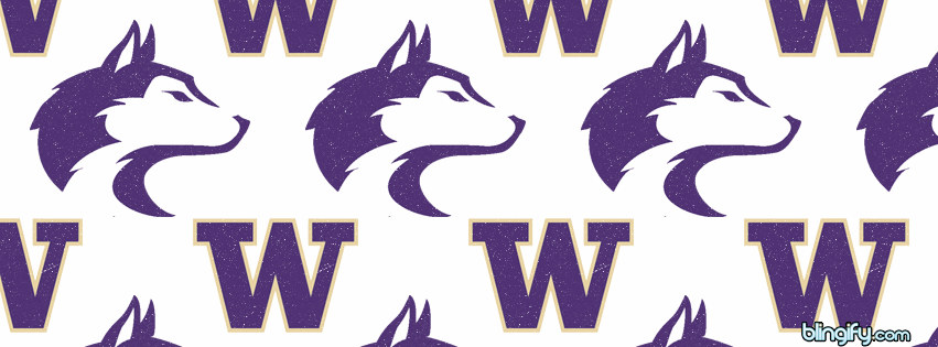 Washington Huskies facebook cover