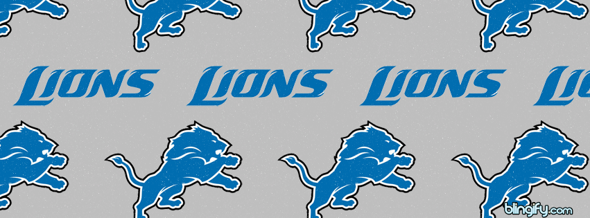 Detroit Lions facebook cover