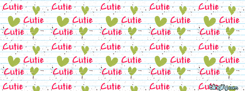 Cutie facebook cover