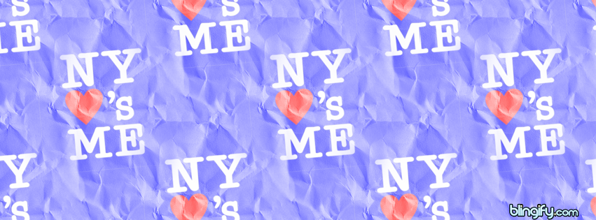 New York Loves Me facebook cover