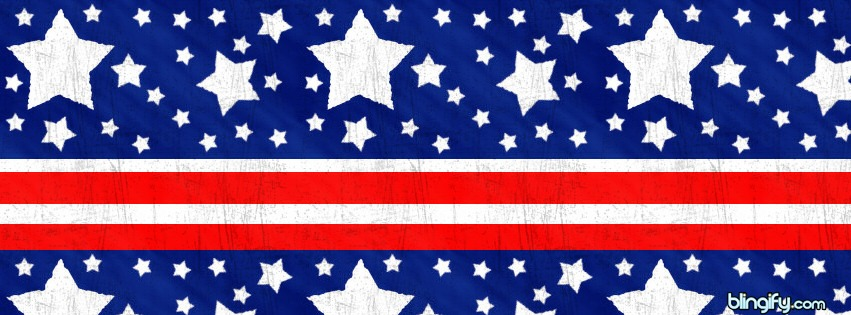 Stars And Stripes facebook cover