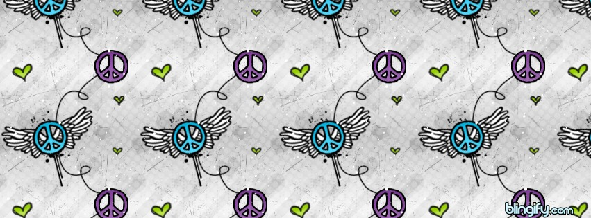 Peace Winged facebook cover