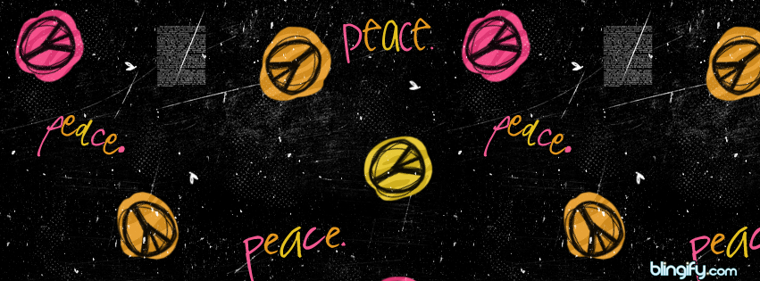 Peace  facebook cover