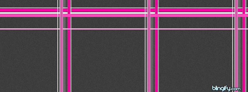 Pink Grey Plaid facebook cover