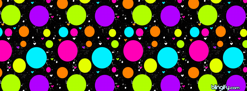 Polka Dots  facebook cover