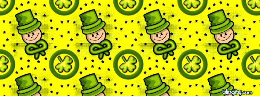 Leprechaun facebook cover