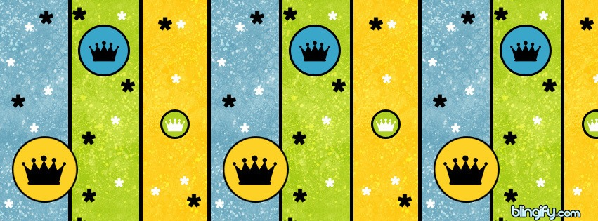 Crown Stripes facebook cover