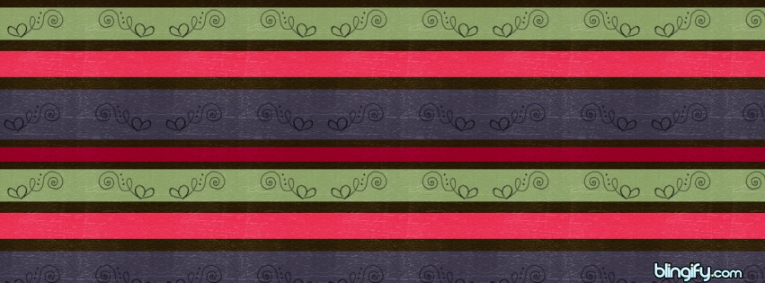 Muted Stripes facebook cover