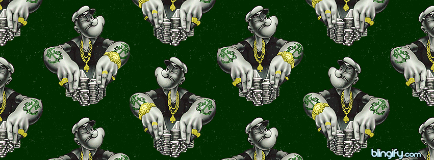 Blingify Popeye facebook cover