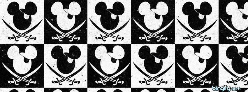 Mickey Pirate facebook cover