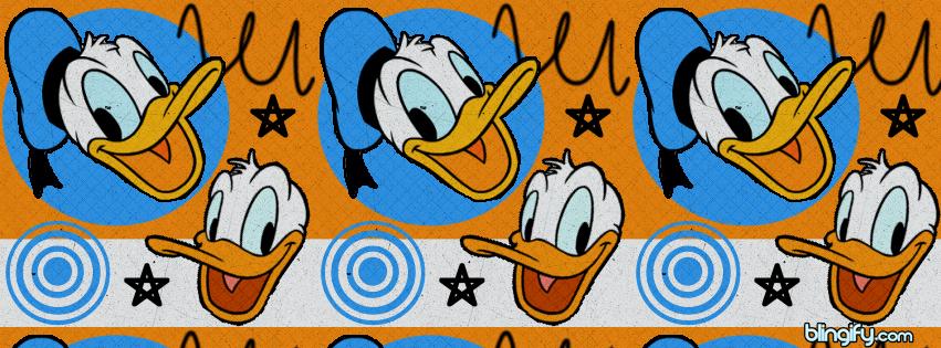 Donald Duck facebook cover