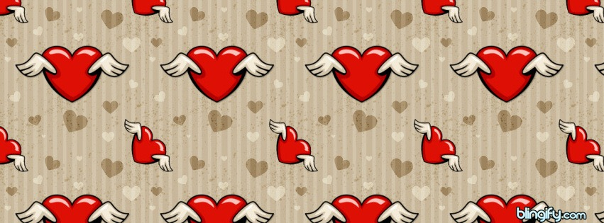 Winged Heart facebook cover