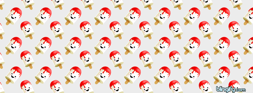 Cute Ice Cream facebook cover