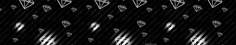 Black And White Diamonds google plus cover