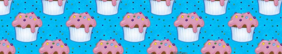 Cupcake Sprinkles google plus cover