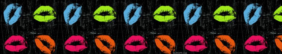 Neon Lips google plus cover