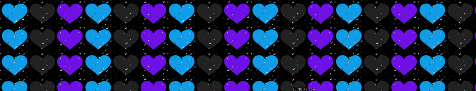 Flashing Hearts google plus cover