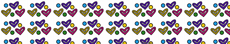 Heart And Polkadots google plus cover