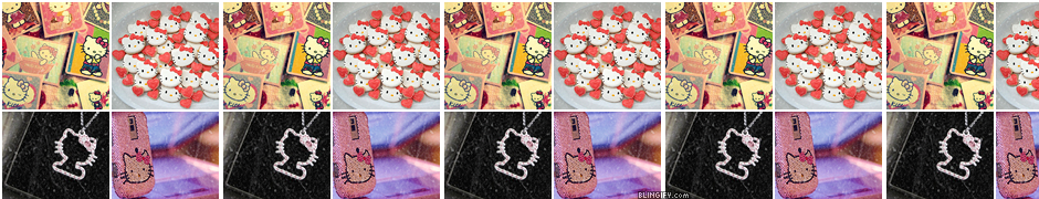 Hello Kitty Icons google plus cover